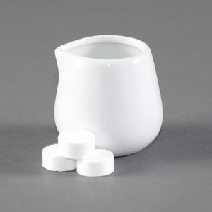 12 x White Porceline Jugs 85ml 3oz