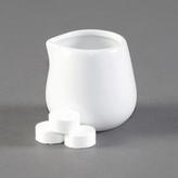 12 x White Porceline Jugs 85ml 3oz